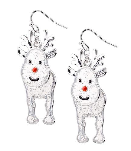 Six Ohrhänger Mit Weihnachtsmotiv Weihnachtsschmuck Rentier