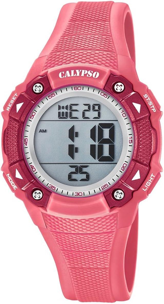 Calypso Reloj Digital para Unisex de Cuarzo con Correa en Plástico K5728/2