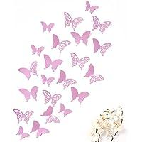 Mariposas 3D Wandkings de color LILA con detalles