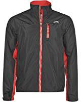 Slazenger Mens WP Jacket Golf Waterproof Pockets Full Zip Long Sleeves
