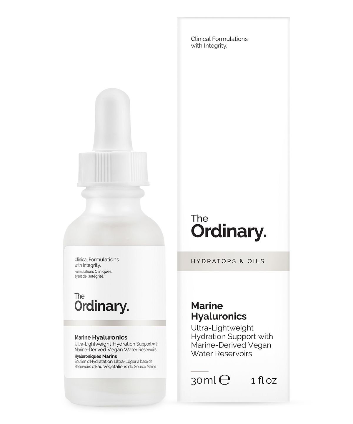 The Ordinary Marine Hyaluronics (30ml/1oz) Ultra-Lightweight Hydration Support The Ordinary by Deciem