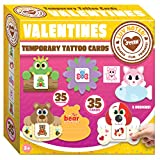 Toys : JOYIN 35 Packs Cards, Valentine's Greeting Cards for Kids with Animal Themed Temporary Tattoos Valentine Classroom Exchange Cards Valentine Party Favor Toy