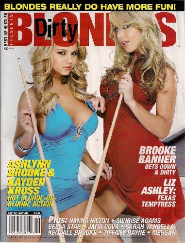 Best of Hustler - Dirty Blondes; Ashlynn Brooke & Kayden Kross (The Best Of Kayden Kross)
