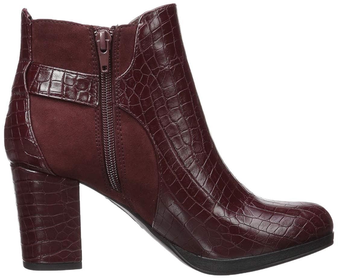 Bella Vita Womens Leann II Fashion Boot Burg Croc//SPSD 6 XW US