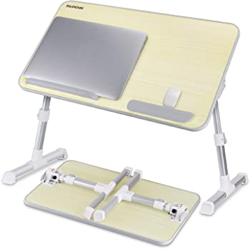 Nearpow Adjustable Laptop Bed Stand with Foldable Legs
