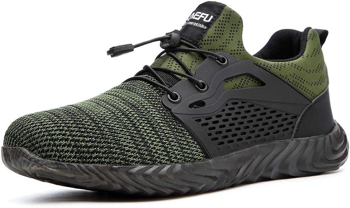 Zapatos de Seguridad para Hombre Mujer Comodos Ligeros Calzado de ...