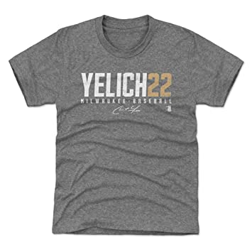Amazon.com: 500 LEVEL Christian Yelich Milwaukee - Camiseta ...