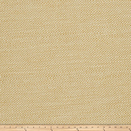 Jaclyn Smith 02628 Basketweave Cashew Fabric by The Yard (Jaclyn Smith Drapes)