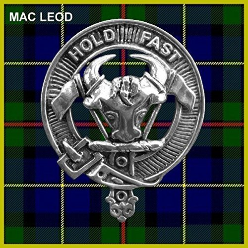 MacLeod Scottish Clan Crest Kilt Buckle Harris