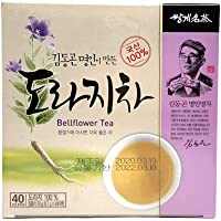 SSangkye Doraji Cha, Korean Bellflower Tea, 0.7g X 40 Tea Bags (28g)