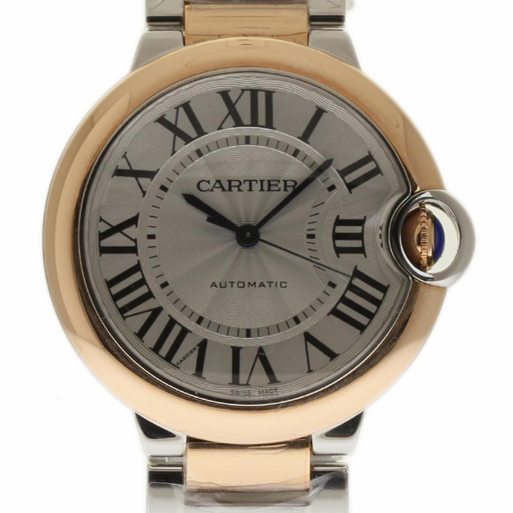Cartier Ballon Bleu swiss-automatic womens Watch W2BB0003 (Certified Pre-owned)
