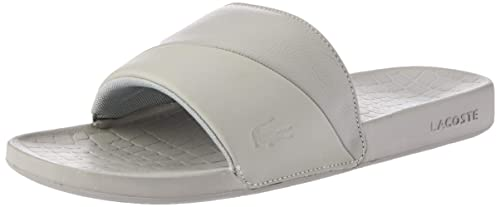 ac4733a1a Lacoste Fraisier 118 3 U Slide Pool Beach Premium Sandals in Grey  735CAM0130 12C  UK