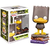 FUNKO POP THE SIMPSONS TREE HOUSE OF HORROR THE RAVEN BART *EX* 1032