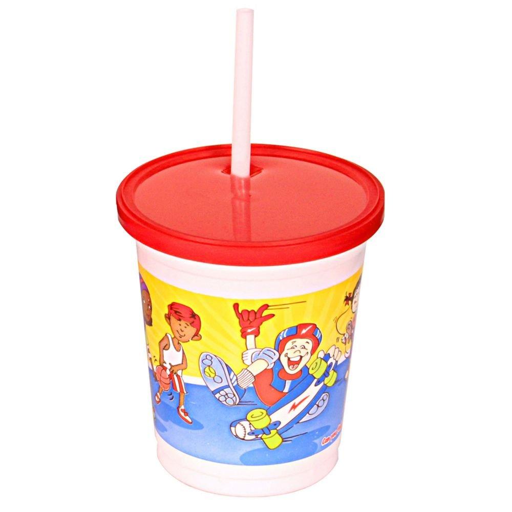 Fabri-Kal 9507090.01 12 Oz. Sports Theme Kids Cup - 500 / CS