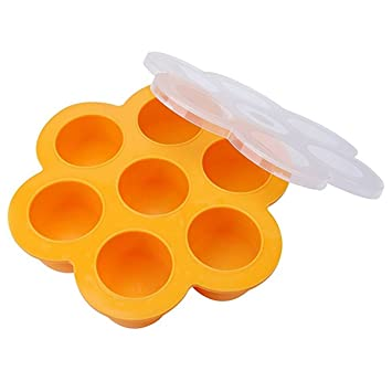 Kyerivs Moldes de silicona para huevos de huevo, para ollas instantáneas – se adapta a