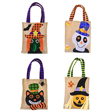 Zhhlinyuan Halloween Bolsas de Mano Bolsa de Fiesta ...