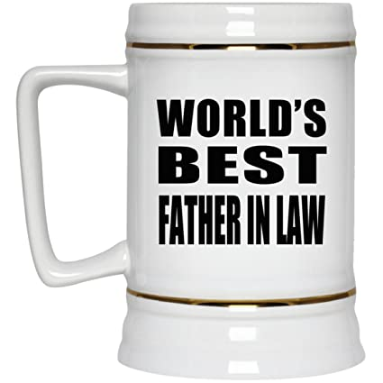 Amazoncom Worlds Best Father In Law Beer Stein Ceramic Beer Mug