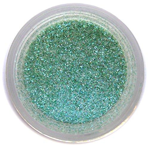 Aquamarine Disco Glitter Dust, 5 gram container