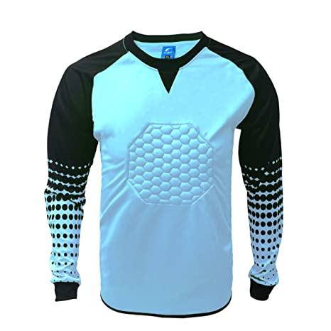 26a95749c18 Image Unavailable. Image not available for. Color: 1 Stop Soccer Soccer  Goalkeeper Goalie Shirt Youth