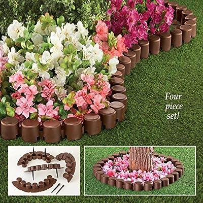 Flexible Garden Border Edging Set of 4