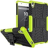 Sony Xperia XA Ultra Funda,iBetter Sony Xperia XA Ultra caso-Tecnología de Absorción de golpes. protección gota prima para Sony Xperia XA Ultra Phone-verde