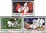 Spain 2933-2935 (complete.issue.) 1990 world exhibition `92 (Stamps for collectors)