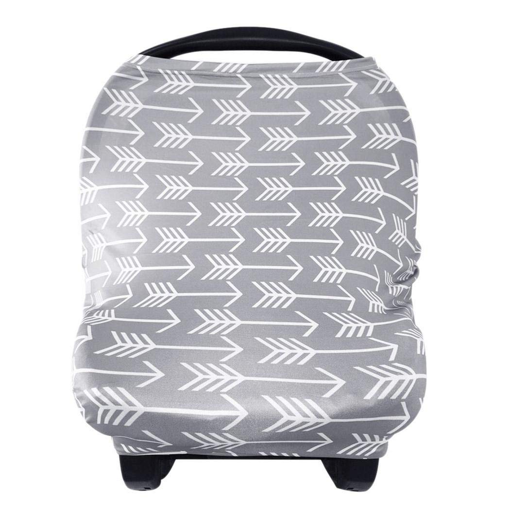 Erholi Baby Nursing Stroller Towel Hood Breastfeeding Car Cover Seat Cover Nursing Covers