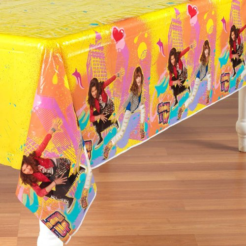 Disney Shake It Up Plastic Tablecover Party Accessory, Health Care Stuffs