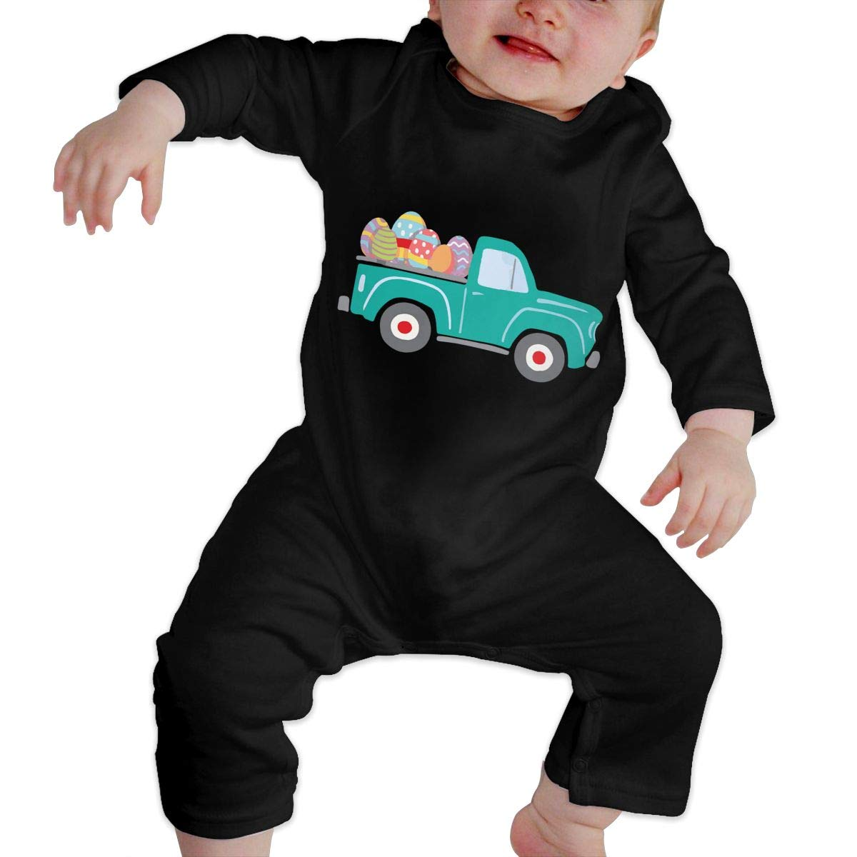 LBJQ8 Happy Easter Newborn Infant Baby Girls Soft /& Breathable Romper Pajama Clothes