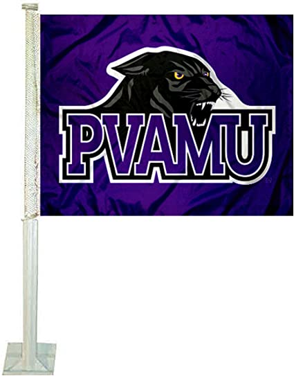 College Flags and Banners Co PVAMU Panthers Double Sided House Flag