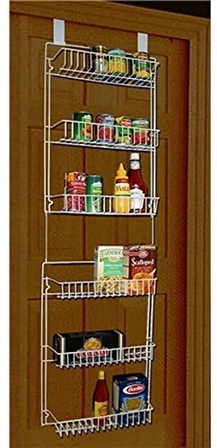 Enjoyable Smilingtree Storage Dynamics 5 Foot Over The Door Rack Organizer Kitchen Pantry Spice Shelf Kitchen Organizer Door Interior Design Ideas Gresisoteloinfo