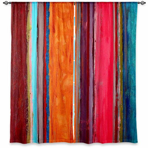 DiaNoche Designs Window Curtains Lined from Unique, Decorative, Funky, Cool by Ruth Palmer Feel Good