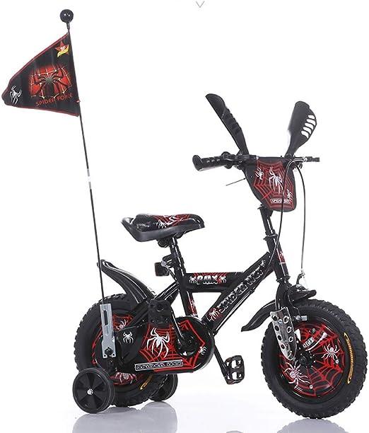 WWWNYY Bicicleta Infantil para Pedales, Bicicleta niño 2-3-4-6-7-8 ...