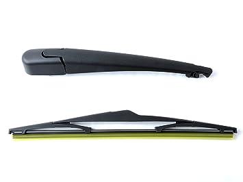 novoflow trasera brazo del limpiaparabrisas con hoja ajuste para Kia Picanto Hatchback 2004 - 2010: Amazon.es: Coche y moto