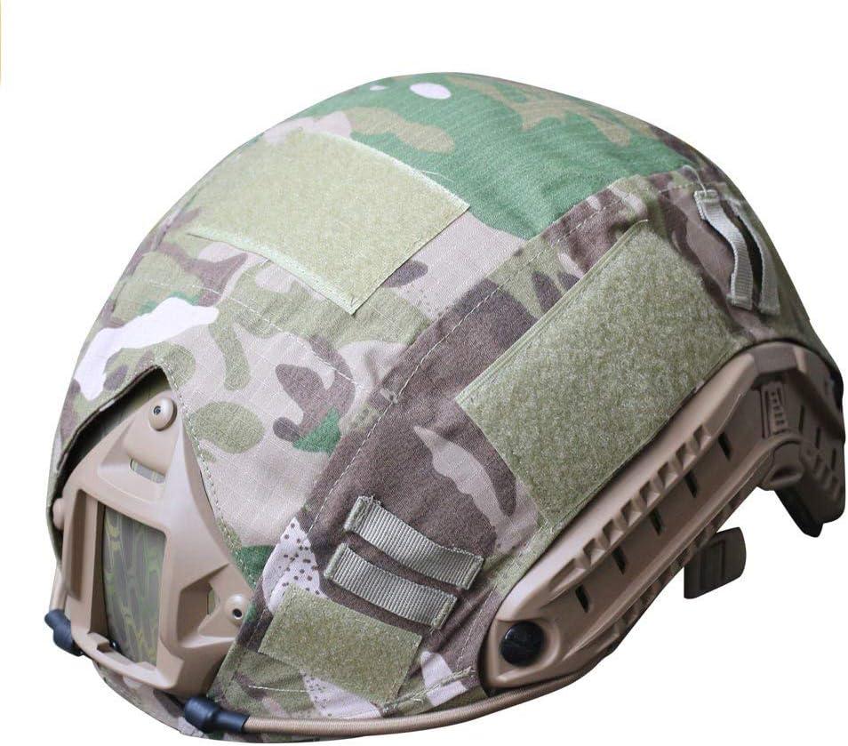 H mundo de compras al aire libre Airsoft Paintball táctico militar Gear combate rápido casco cubierta MULTICAM MC