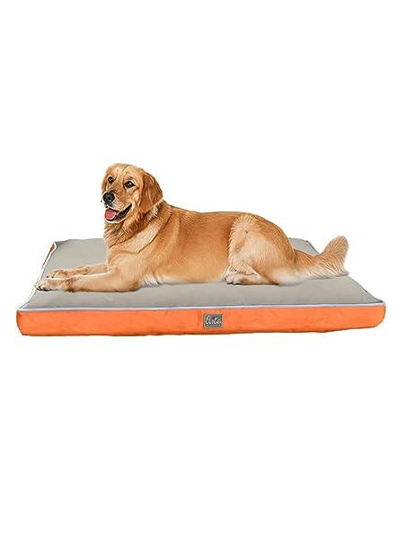 YGJT Alfombrilla de Cama para Perro Mascotas Grande Doble Cara Impermeable 130x80x10cm Tela Oxford Cama Colchón