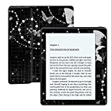MightySkins Protective Vinyl Skin Decal for Amazon Kindle Oasis 6'' (8th Gen) wrap Cover Sticker Skins Black Butterfly