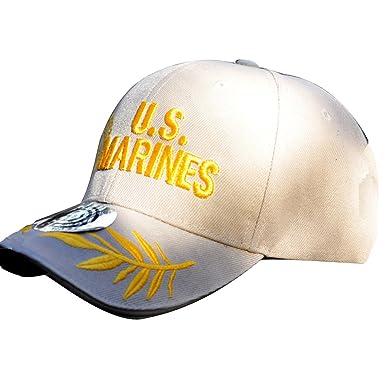 891887be52903 JDHE FJFDe US Army The United States Marine Corps Unisex Adjustable Embroidery  Hat Sun Cap Custom Hat Military Baseball Caps  Amazon.co.uk  Clothing