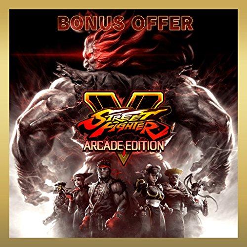Street Fighter V - Arcade Edition Deluxe Plus Bonus Offer - PS4 [Digital Code] by Capcom
