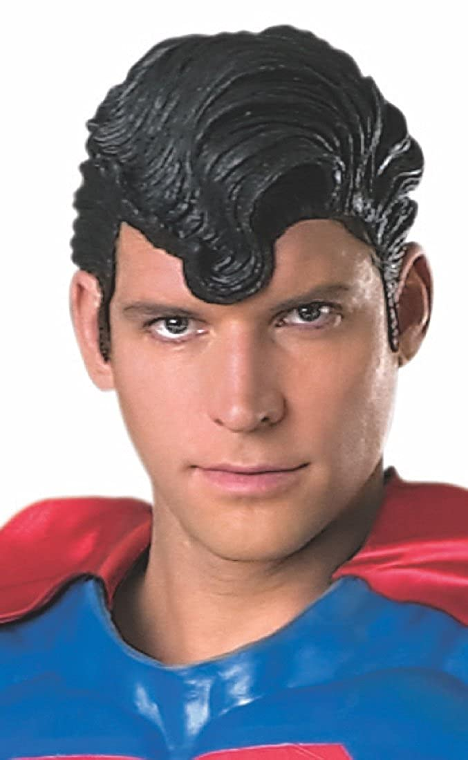 Rubies Costume Dc Heroes and Villains Collection Superman Deluxe Wig Black One Size Rubies Costume Co (Canada) 6490