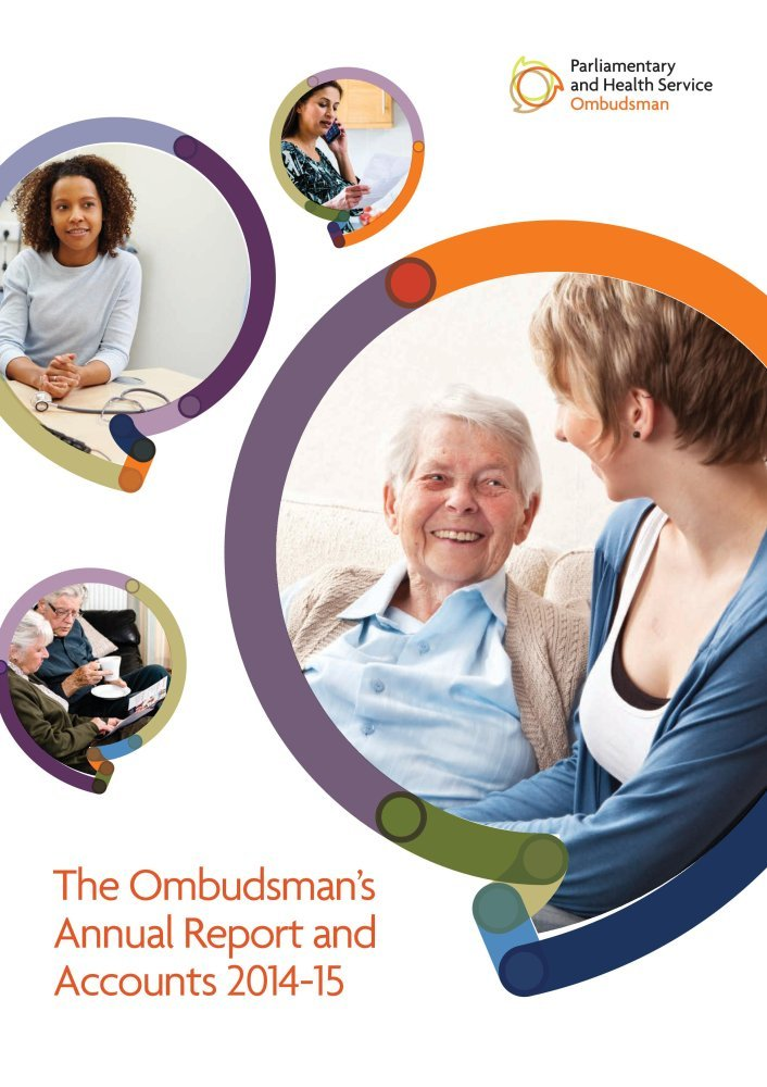 Download The Ombudsman's annual report and accounts 2014-15 (House of Commons Papers) pdf epub