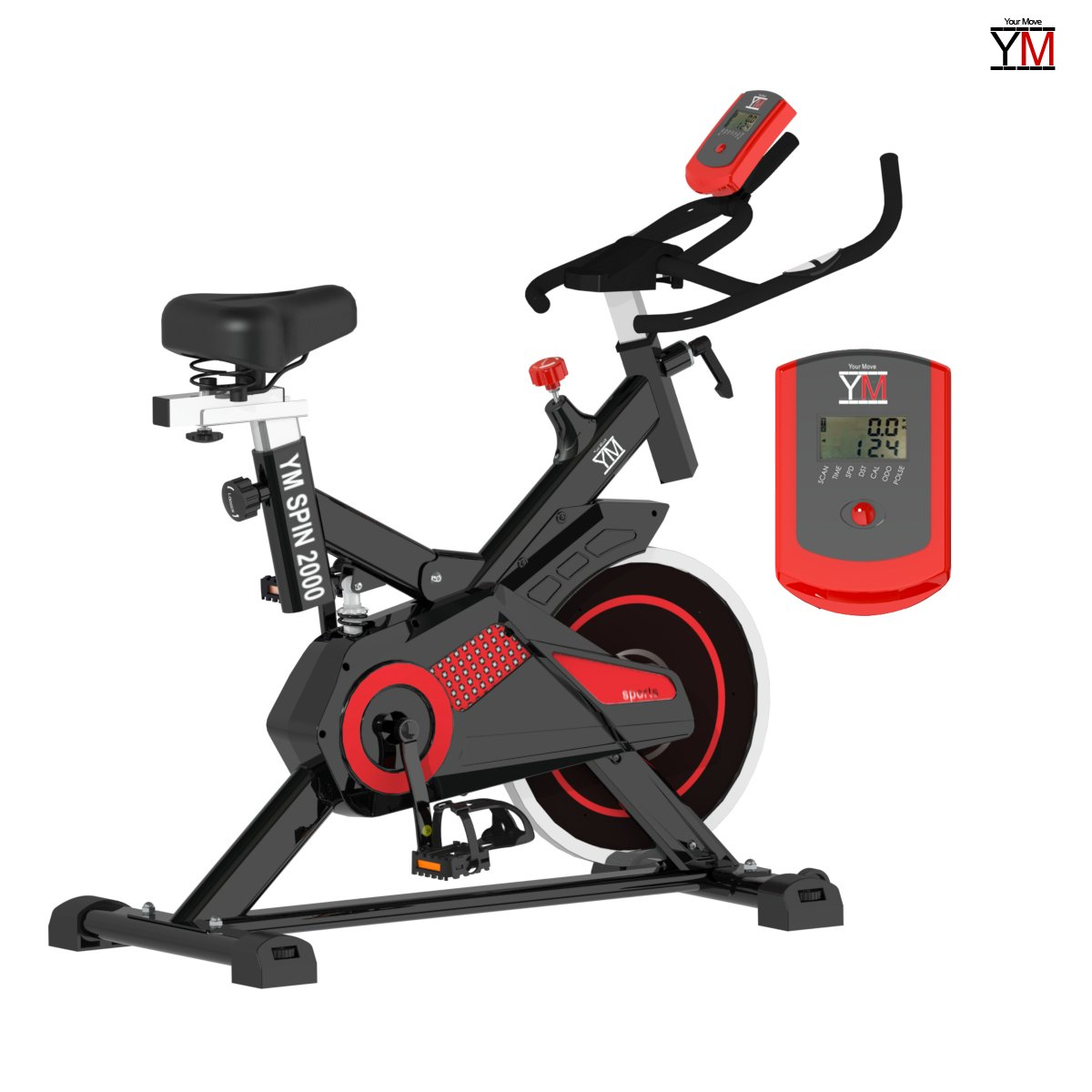 Bicicleta de spinning - Bike Your Move Cardio, bicicleta estática ...