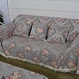 European style sofa cover sofa full cover sofa towel Non slip composite fabric sofa A 180x360cm(71x142inch)