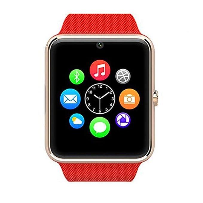 Reloj inteligente Zomtop usable Bluetooth GT08 inteligente Salud Teléfono reloj de pulsera con ranura para tarjeta SIM para Android Samsung HTC LG SONY ...
