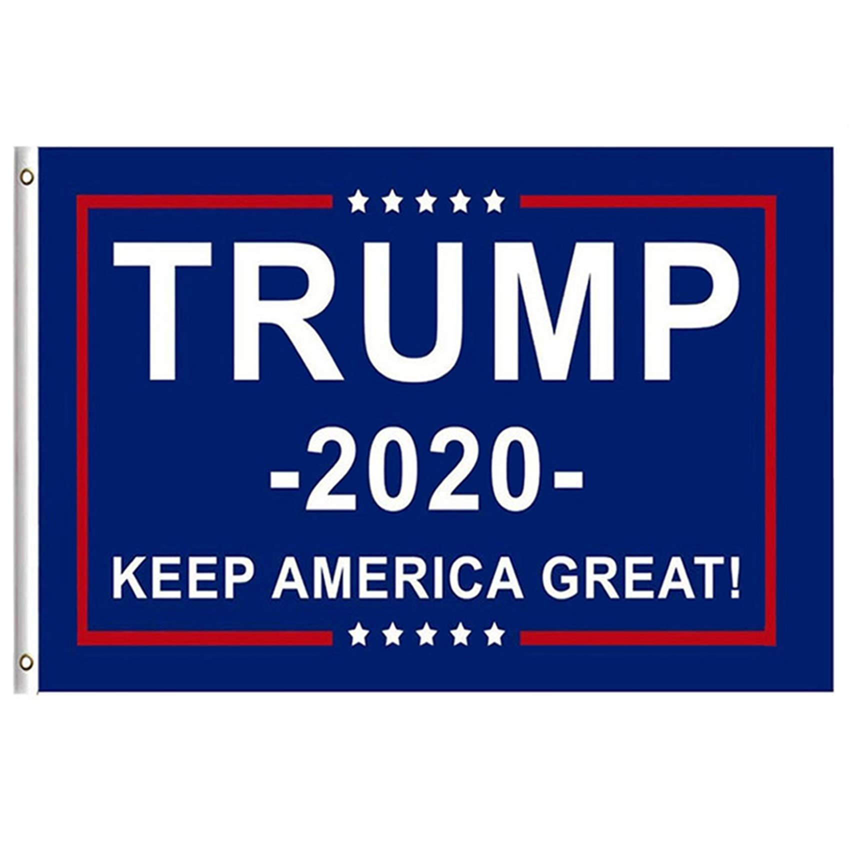 Berkshiled President Donald Trump Flag 2020 Keep America Great Flag 3x5 Feet with Grommets