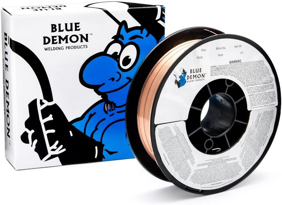 Blue Demon ER80SD2 X .030 X 2LB Spool Low Alloy Welding Wire