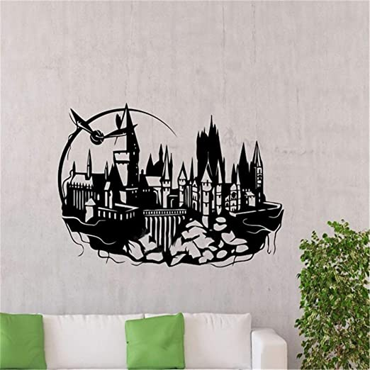 pegatinas de pared mariposas Hogwarts Tatuajes de pared ...