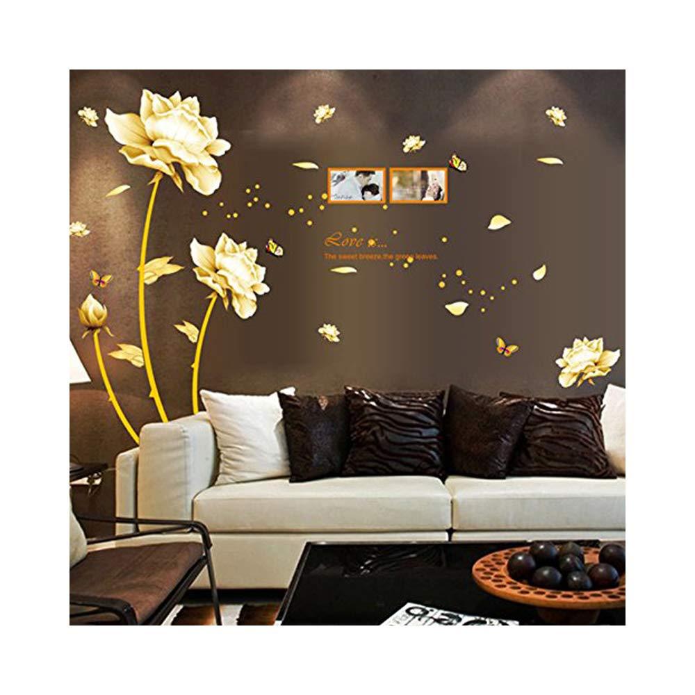 Amazoncom Golden Faith Lotus Flowers Photo Frames Diy Eco Friendly