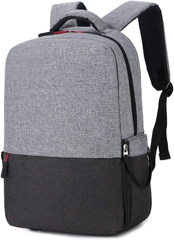ZWJJQBJBB Laptop Bag, Mochila For Computadora Portátil, Estuche Multifunción, Mochila Impermeable De Gran Capacidad con Conector USB, Mochila De Viaje/Negocios For Hombres Y Mujeres (Color : A): Amazon.es: Deportes y aire libre