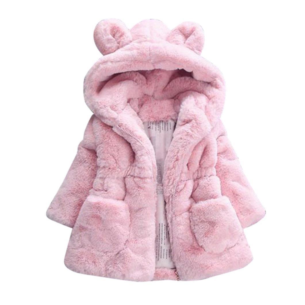 manteau bébé, Tpulling bébé filles automne - hiver le manteau épais manteau jacket vêtement chaud